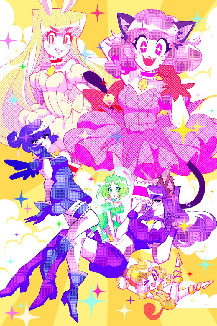 MEW MEW POWER!!✨(from the TMM zine!)