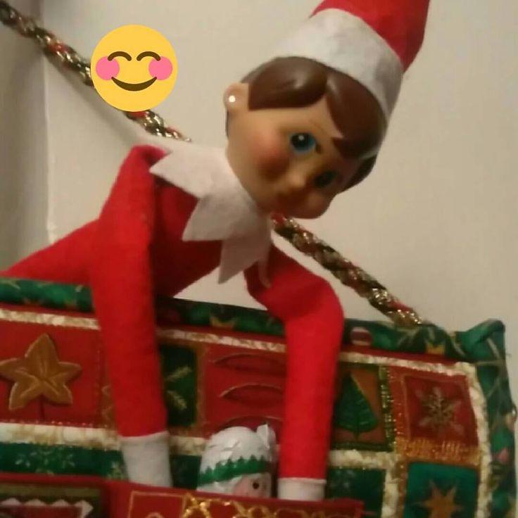 Sparkles robbing Lizzies chocolates from her advent calender!!! #elfonashelf #elfontheshelf #cheeky #sparkles #sparklestheelf #adventcalender #Christmas #shenanagins #elffun #elfadventures #elf #cadbury Ireland AM Cadbury Ireland Cadbury Dairy Milk 2016