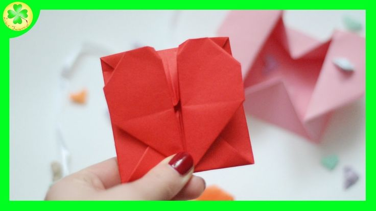 Filmik ukazujący proces powstawania koperty w kształcie serduszka :)