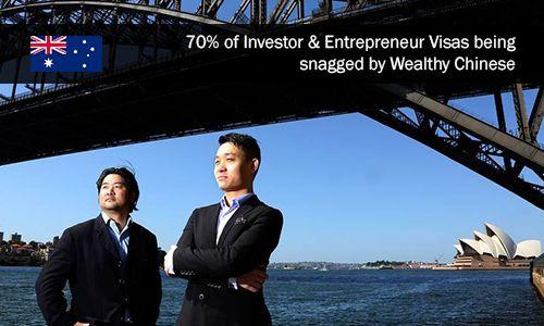 Affluent Chinese denizens are grabbing over 70% of visas chosen for innovative…