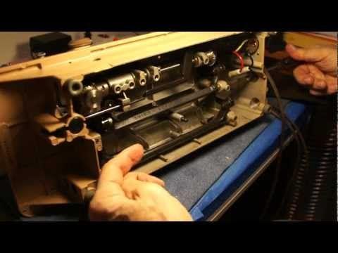 Singer 401a Maintenance Video