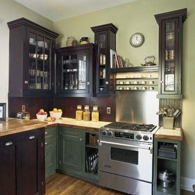 Stainless steel backsplash. Photo: Deborah Whitlaw-Llewellyn | thisoldhouse.com | from 100 DIY Upgrades for Under $100