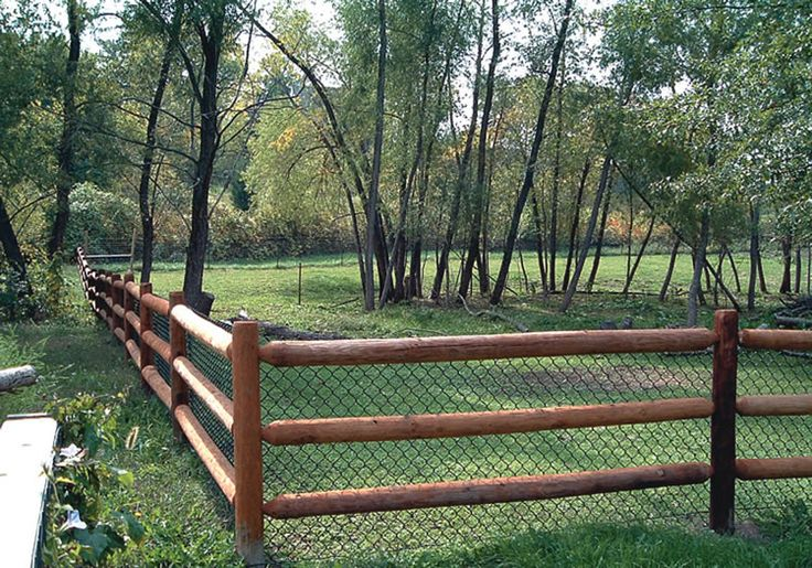 Lowes 3 Rail Wooden Fence Wood Fence Premier Fence Kc