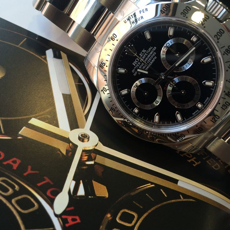 17 best images about tempus anima rei tempus fugit buy the rolex daytona stainless steel black dial 116520 at a big discount to retail price order today fast delivery