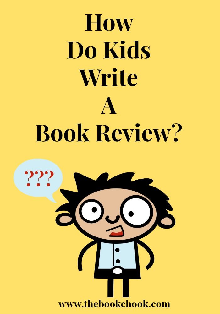 What are some tips for kids on writing a book review or book report?