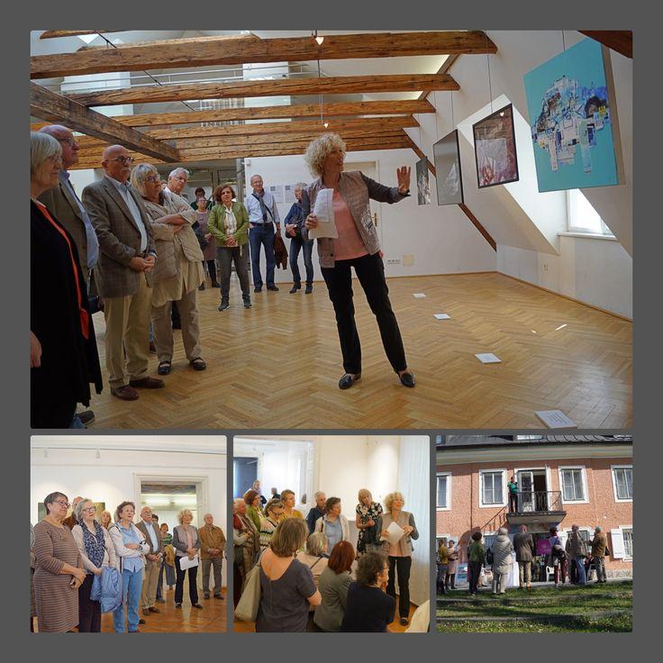 Ausstellungsführung in der Berchtoldvilla in Salzburg - Unsere Ausstellung Salzburg: Visionen und Budapest trifft Salzburg