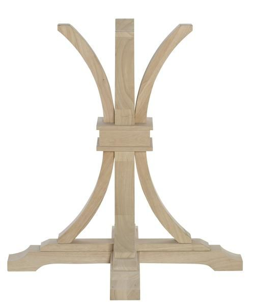 Terra 2 Flaired Table Pedestal Choose From Heights