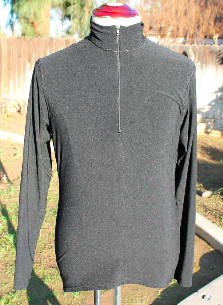 Patagonia 1/2 Zip Compression Mock Shirt Medium Athletic Capilene Base Layer #Patagonia #BaseLayers