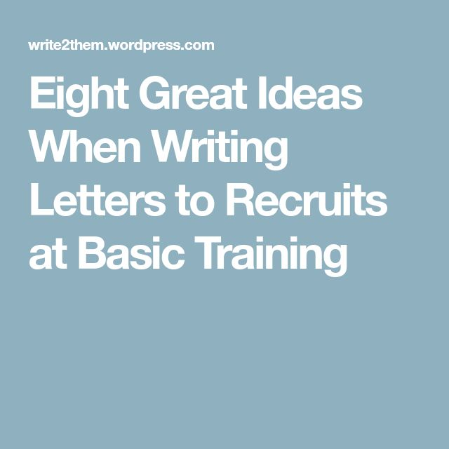 Best  Basic Training Letters Ideas On   Deployment