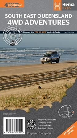 South East Queensland 4WD Adventures : Hema Map