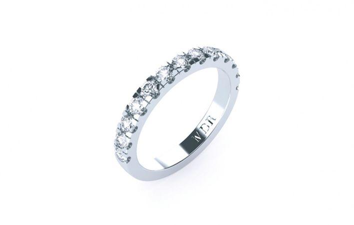 Makers Lane :: Blondell Diamond Wedding Ring Custom Made, Bespoke jewellery made in Australia.