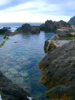 Piscinas naturales en el Caletón, Garachico, Tenerife
