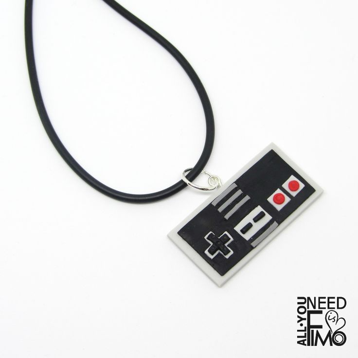 Nintendo NES controller inspired charm for necklace or key chain! ️ Now in my Etsy and AlittleMarket Shop! Alm: https://www.alittlemarket.it/boutique/all_you_need_is_fimo-2956658.html  #fimo #polymerclay #artigianato #fattoamano #handmade #charm #necklace #keychain #keyring #portachiavi #nintendo #nes #controller #joypad #joystick #nerd #geek #vintage #vintageconsole #vintagegames #anni90 #90s #etsy #etsysellersofinstagram #etsysuccess #etsyshop #alm #alittlemarket #allyouneedisfimo…