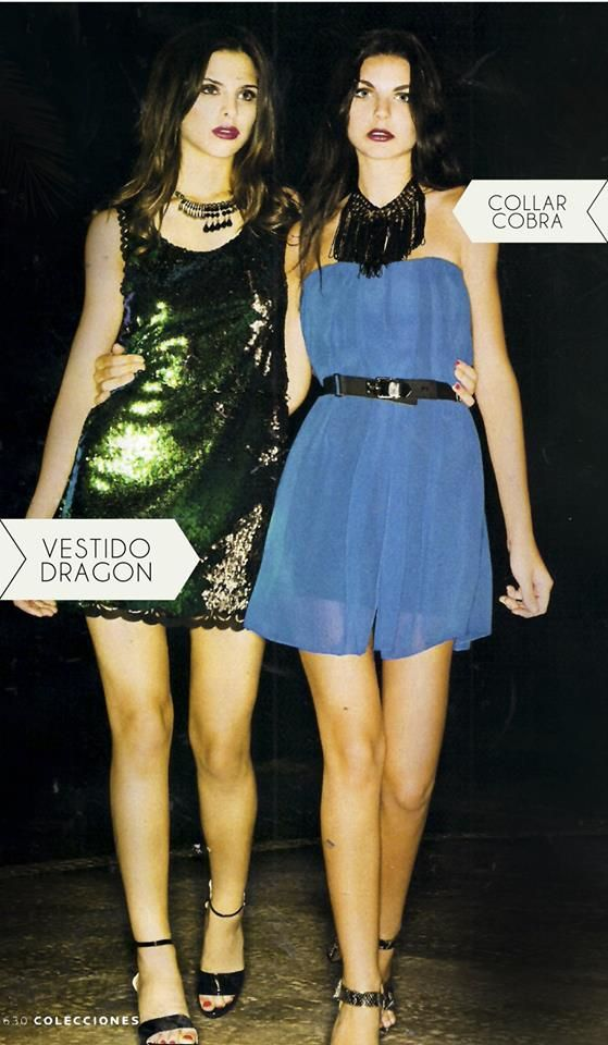 Vestido Dragon de lentejuelas peinables, color verde,azul o negro opaco @LaCofradia_ropa