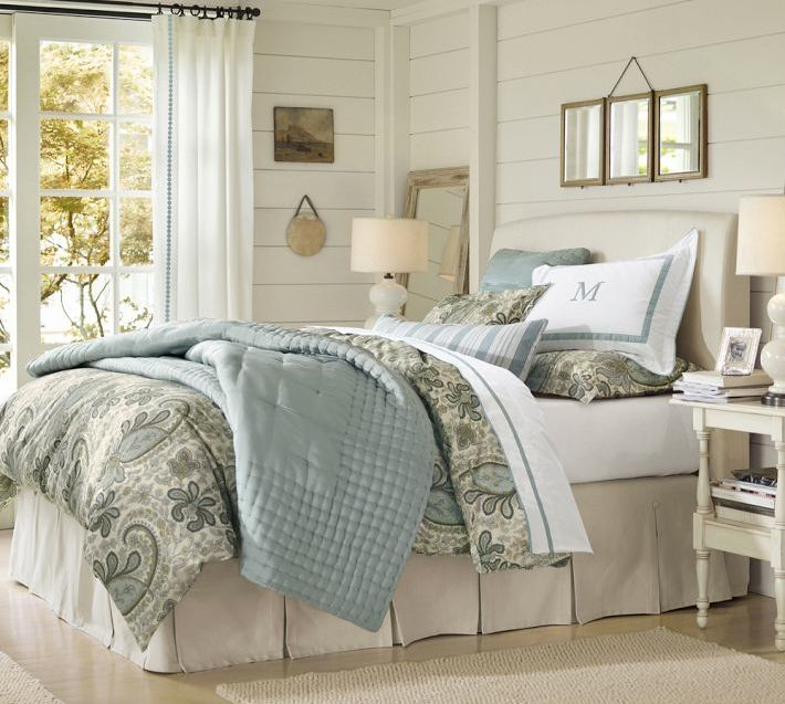 32 best Pottery Barn Bedrooms images on Pinterest | Country ...