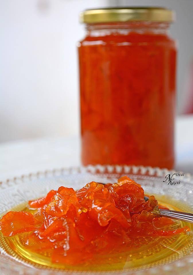 Γλυκό κουταλιού καρότοΝτίναΚαρά