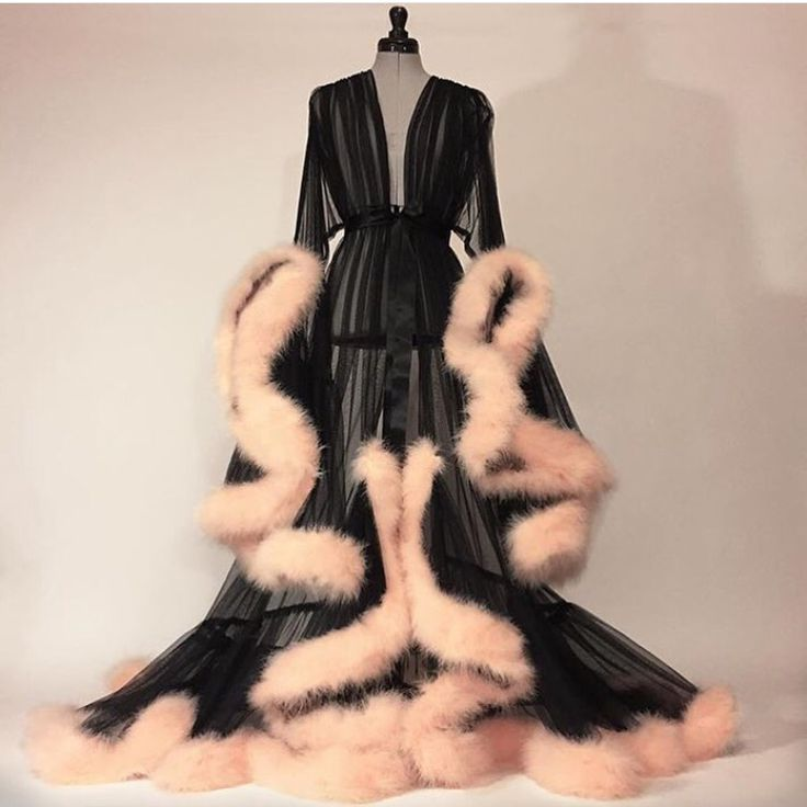 Absolutely necessary for me to have this Catherine D'lish robe if I ever have an Art Deco home