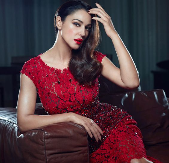 "Monica Bellucci in the creations of the Dolce & Gabbana for ""L'Officiel""FASHIONMG-STYLE 