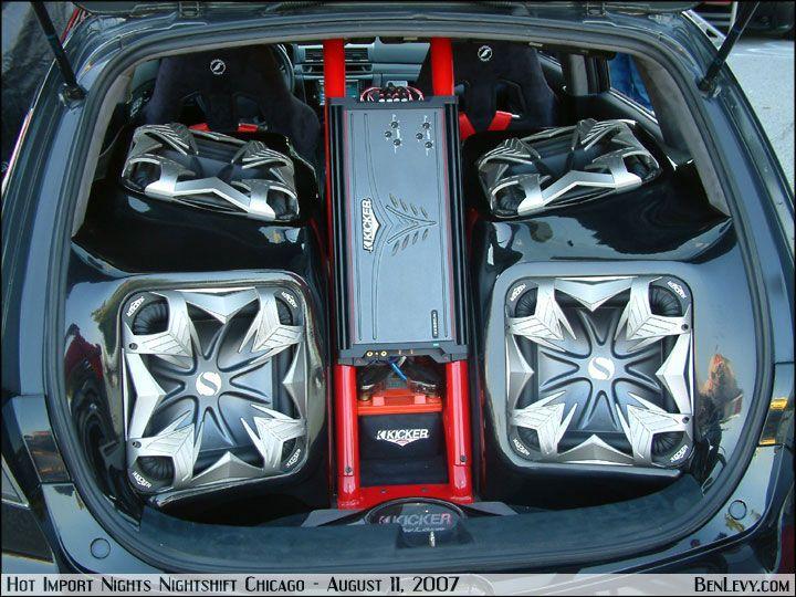 Car Speaker Set Up Kicker Sound Set Up Bass Speakers