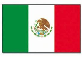 Mil-Tec Fahne Mexiko, 90x150cm / mehr Infos auf: www.Guntia-Militaria-Shop.de