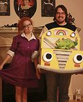 Magic School Bus and Miss Frizzle Halloween Costume - 2012 Halloween Costume Contest