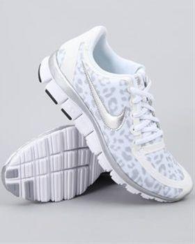 White cheetah print. i want these DrJays.com