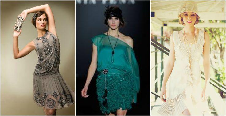 Vestidos fiesta a os 20 a os 20 pinterest gatsby vestidos and fiestas - Fiesta anos 20 ...