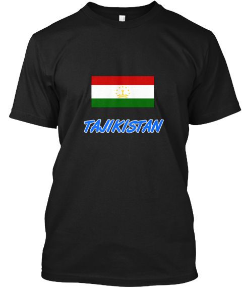 Tajikistan Flag Artistic Blue Design Black T-Shirt Front - This is the perfect gift for someone who loves Tajikistan. Thank you for visiting my page (Related terms: I Heart Tajikistan,Tajikistan,Tajik,Tajikistan Travel,I Love My Country,Tajikistan Flag, Tajikistan  #Tajikistan, #Tajikistanshirts...)
