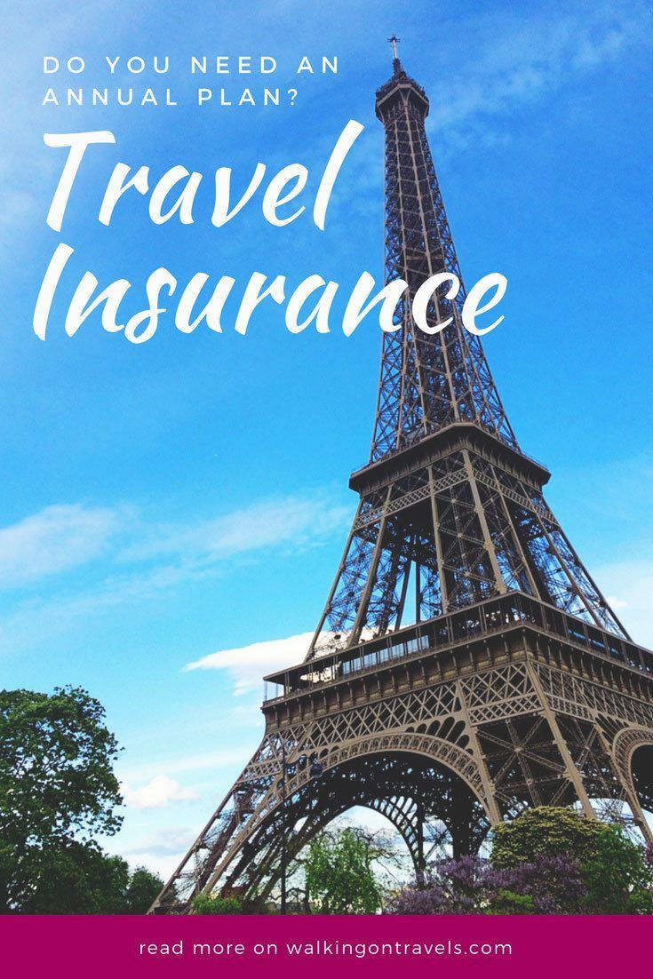 Travel Insurance: Do you need an annual travel insurance plan? Yes, and here is why anyone who takes more than two trips a year actually needs to stay protected when they travel this year with travel insurance through multi trip insurance or annual travel insurance plans. #traveltips #travelinsurance #familytravel