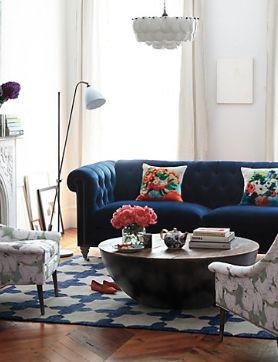 Blue Sofa Living Room Design 38 Best Blue Sofa Images On Pinterest  Living Room Blue Sofas