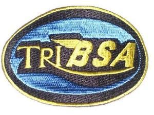 """tribsa cafe racer parche triumph bsa classic british motocicleta oval parches - Categoria: Avisos Clasificados Gratis  Estado del Producto: New with tags You will get the one brand new patch that is pictured This patch measures 4"""" x 2 34"""" the colors included are blue, gold, and black To get an order with combined shipping you must request and invoice before you pay Contact us with any questions 6618777911 6612521174Powered by eBay Turbo ListerThe free listing tool List your items fast and…"""