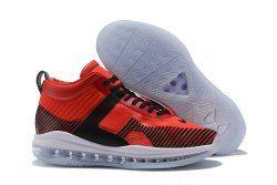 a8021134052 Exquisite John Elliott x Nike LeBron Icon Red Black White Men s Basketball  Shoes
