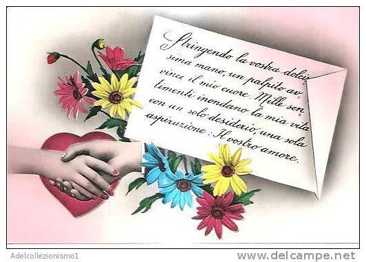 Cartoline Auguri Matrimonio In Inglese : Cartolina illustratoria serie promesse di matrimonio