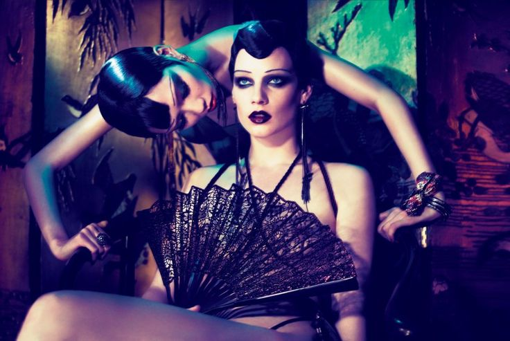Fashiontography: China Girls by Mert Alas & Marcus Piggott