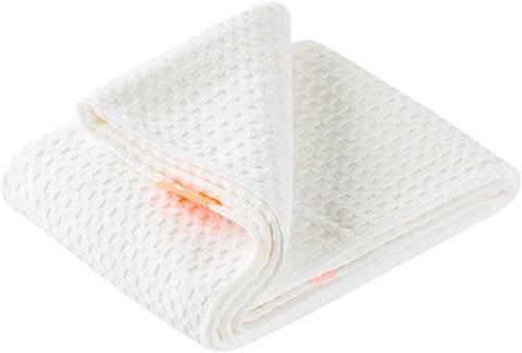 Aquis Hair Towel Waffle Luxe - White