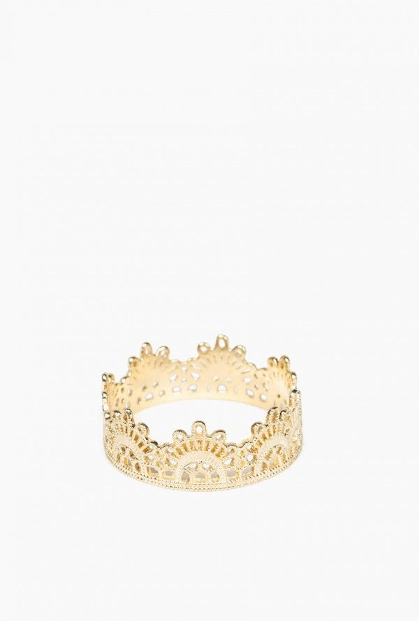 Grace Lee - Half Lace Ring