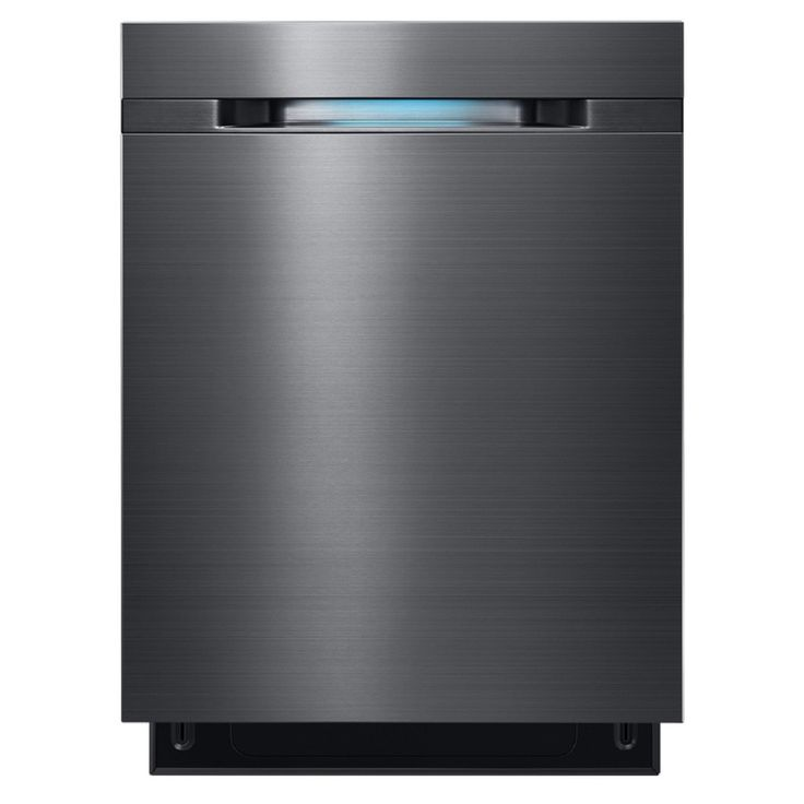 Samsung 44-Decibel Built-in Dishwasher (Black Stainless Steel) (Common: 24-in; Actual: 24-in) ENERGY STAR