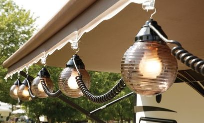 1000 Ideas About Awning Lights On Pinterest Camper