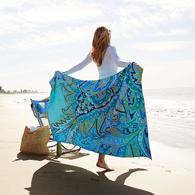 Paisley Brights Beach Towels Beach, Beach essentials