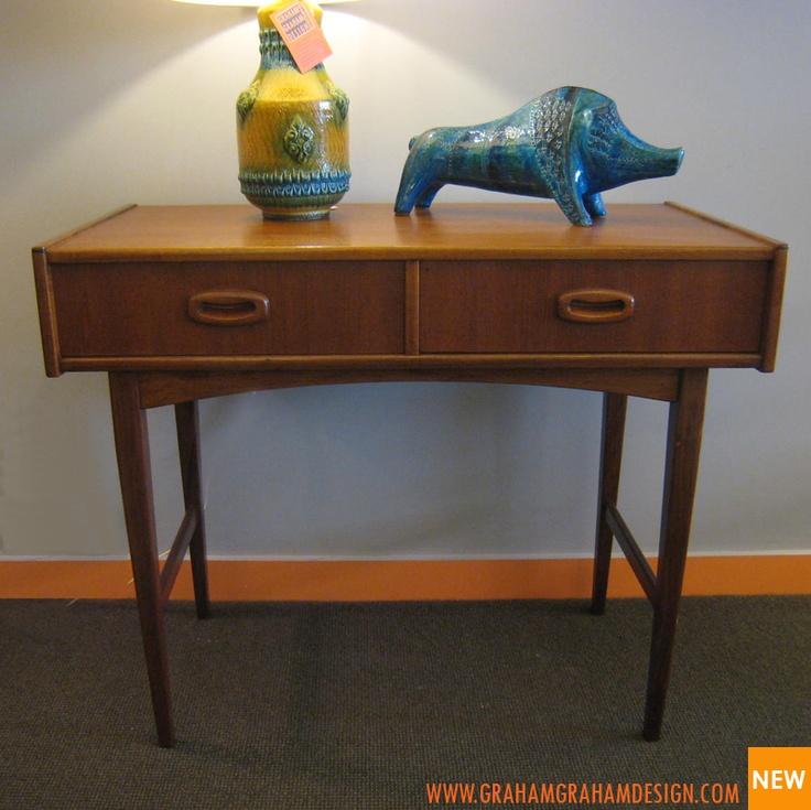 Parker 60's teak compact desk