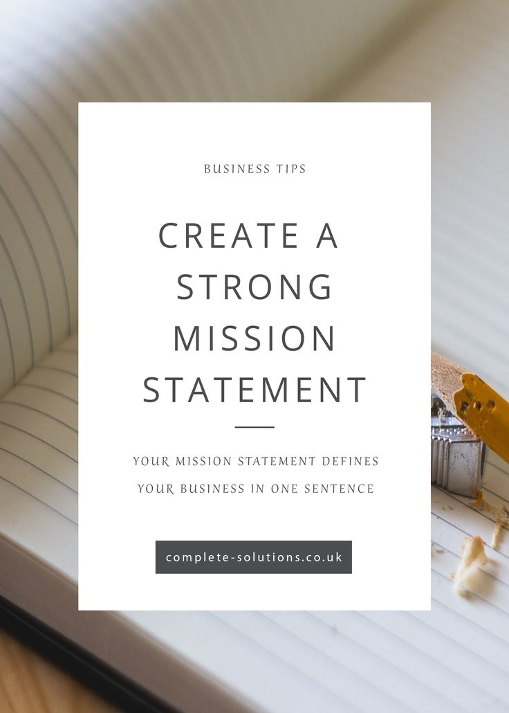 How to create a strong mission statement and give your clients the best impression of your business! http://www.complete-solutions.co.uk/how-to-create-a-strong-mission-statement/?utm_campaign=coschedule&utm_source=pinterest&utm_medium=Complete%20PA%20Solutions&utm_content=How%20to%20create%20a%20strong%20mission%20statement
