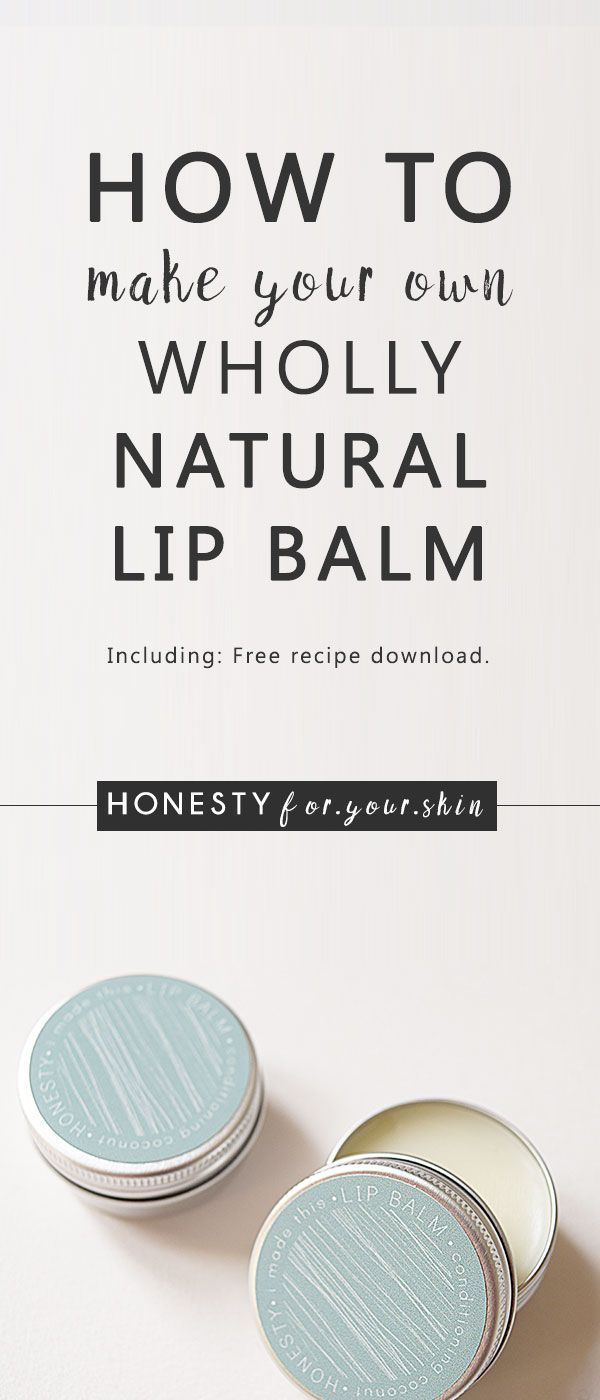 Want to know how to make your own lip balm? Then this blog article is for you! Learn how to DIY your own natural lip balm from scratch with just 4 ingredients. They're natural, they're skin loving and the best bit – you made them. There's even a free downloadable DIY lip balm recipe that you can print off to keep handy. Click through to grab yours.