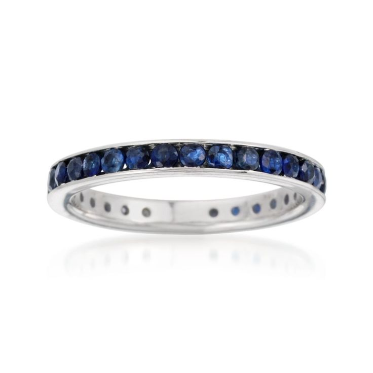 Our sapphire eternity band features 1.30 ct. t.w. sapphires running all around this chic, stackable band. Sterling silver eternity band. Free shipping & easy 30-day returns. Fabulous jewelry. Great prices. Since 1952.