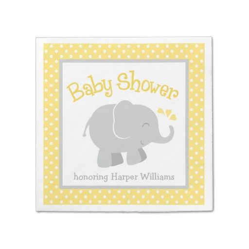 1729 Best Baby Shower Napkins Images On Pinterest Baby Shower