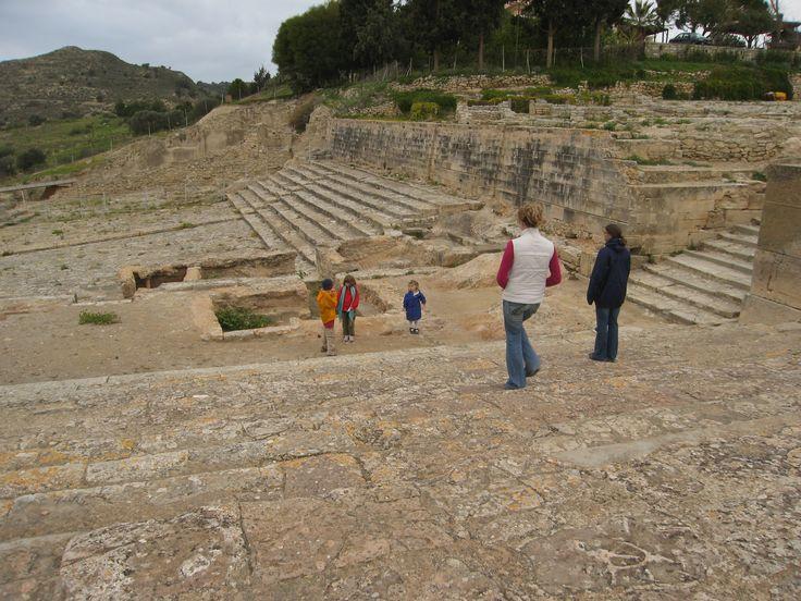 Phaestos Temple Courtyard Minoan Crete