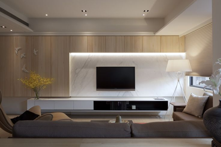 Wall unit lighting
