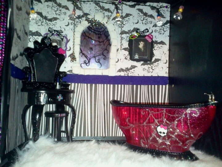 74 Best Images About Mh Furniture Playsets On Pinterest Library Furniture Monster High