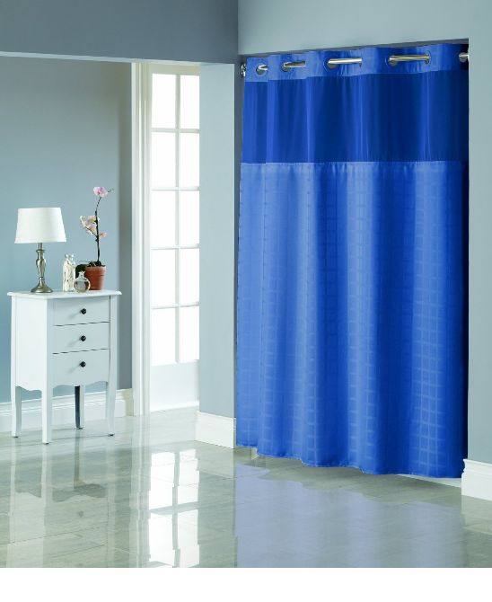 Hookless Shower Curtains With Liner : Best shower curtain ideas