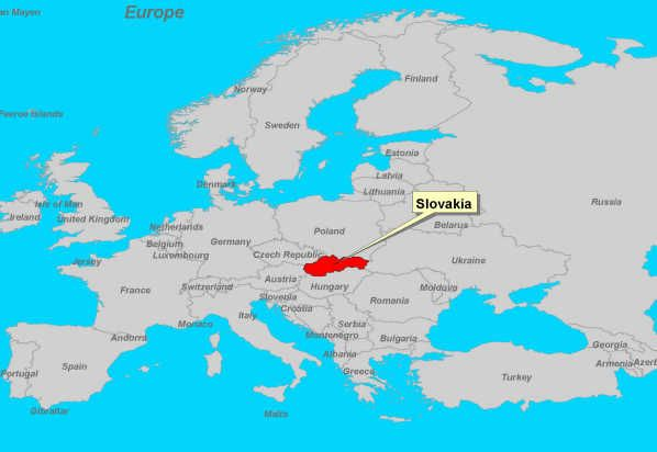For those who have no idea where Slovakia is ;-)