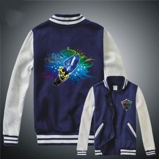 Cool Aghanim's Scepter sweatshirt for boys online game Dota 2 creative baseball uniform
